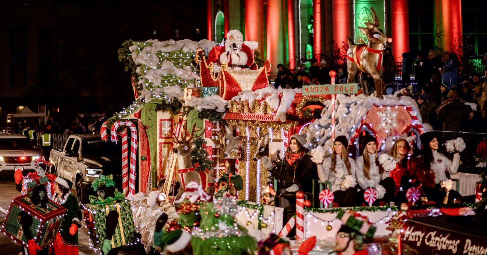 Denver Community Christmas Parade 2021