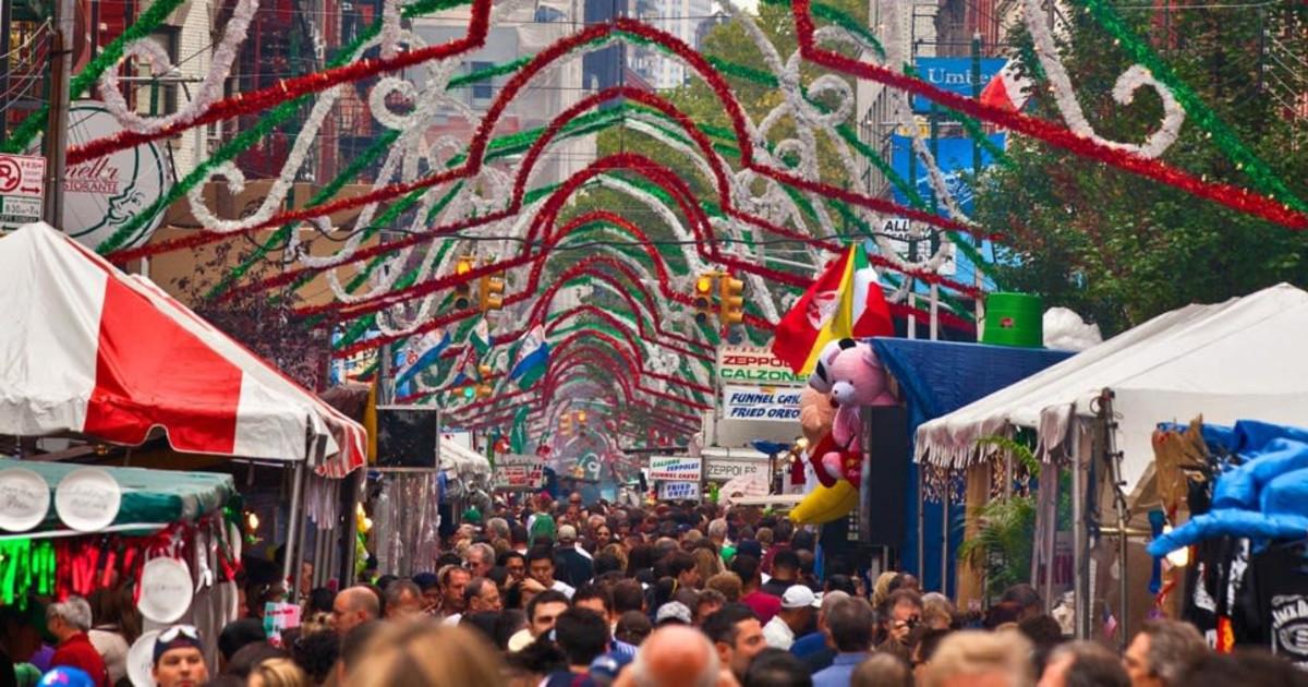 San Gennaro Festival New York 2020.Feast Of San Gennaro 2019 In Nyc At Mulberry Street Between