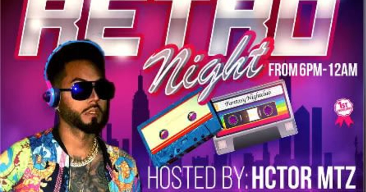 Chicago 2/26/21 Retro Night w/ HCTOR MTZ