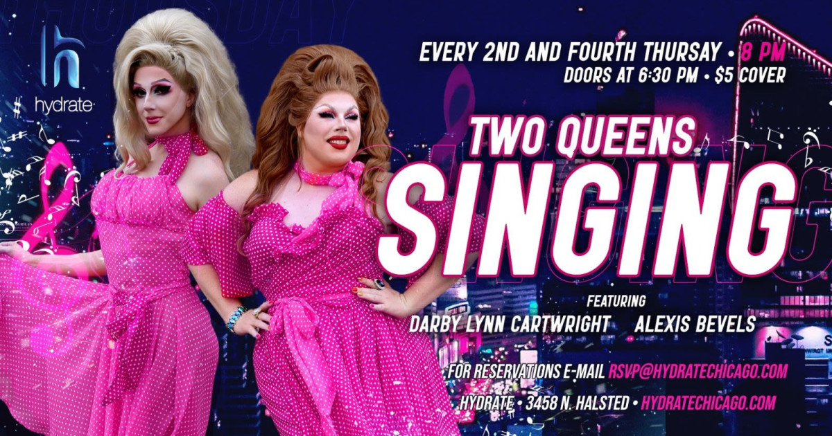 Chicago 3/11/21 Two Queens Singing w/ Darby & Alexis
