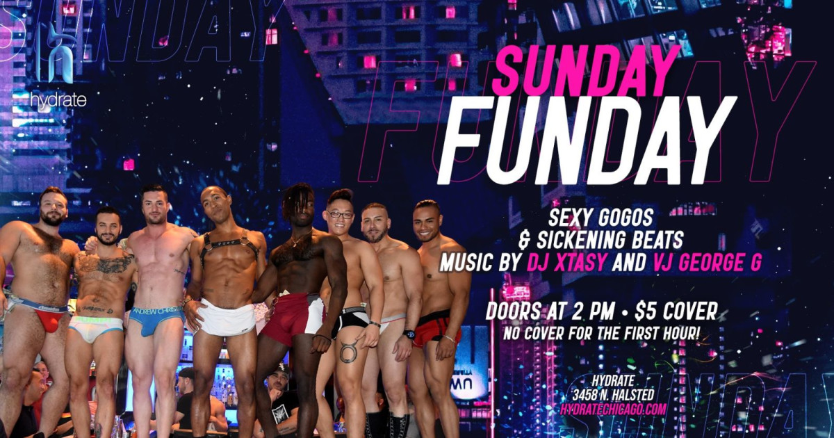 Chicago 3/14/21 Sunday Funday at Hydrate