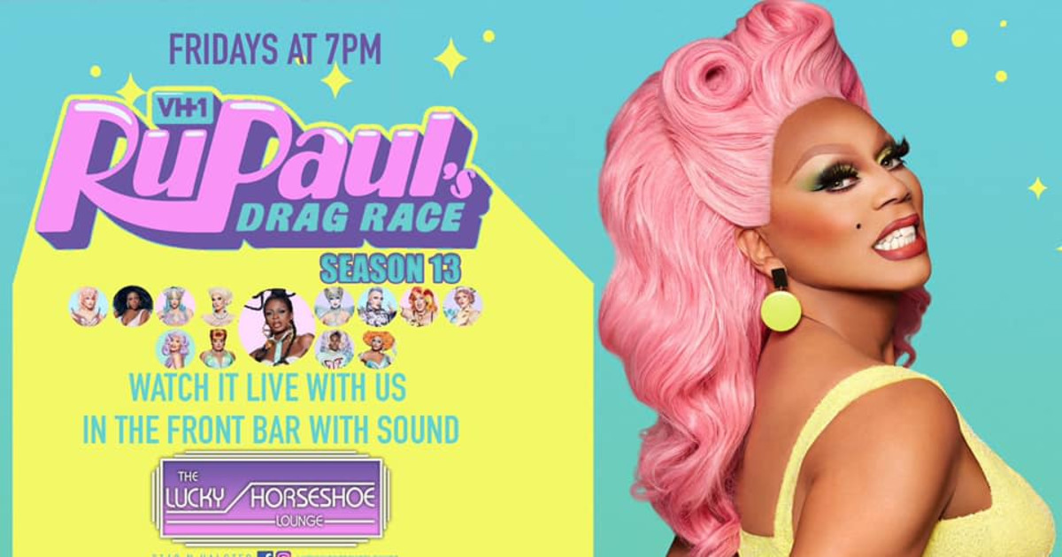 Chicago 3/19/21 RuPaul's Drag Race Viewing Party At Lucky Horseshoe