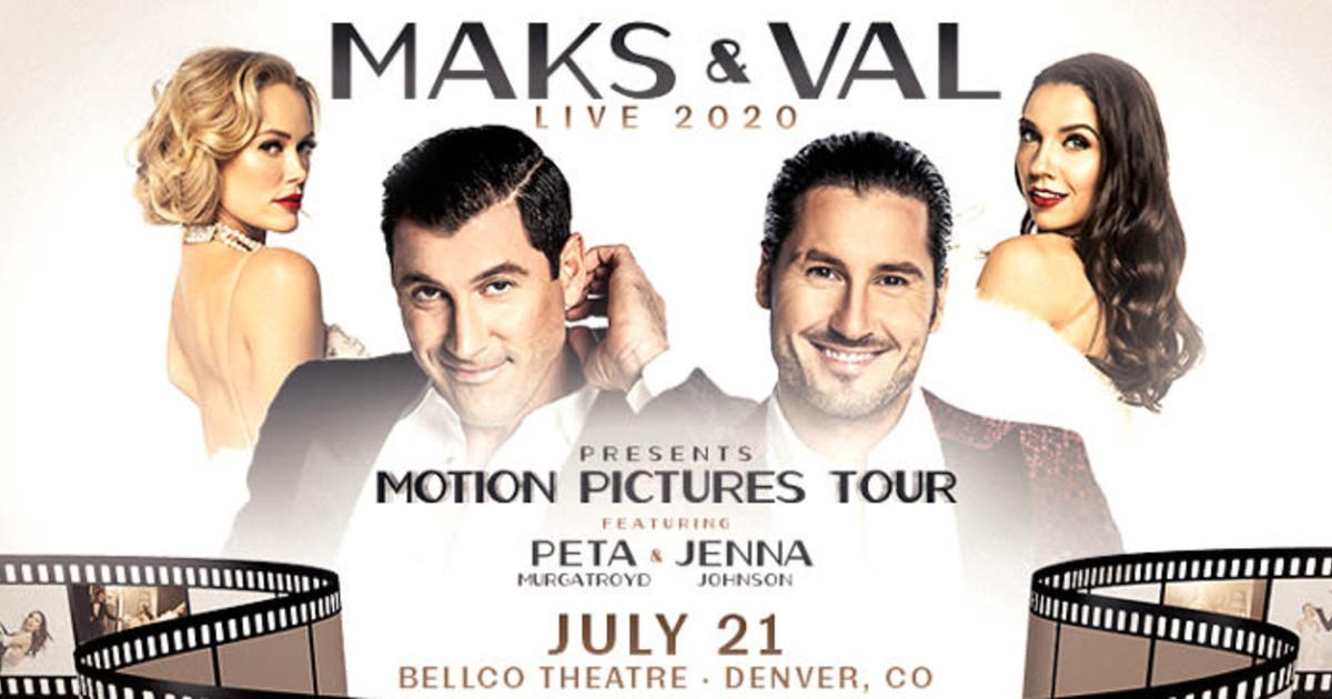 Tour max chmerkovskiy and val Maks &