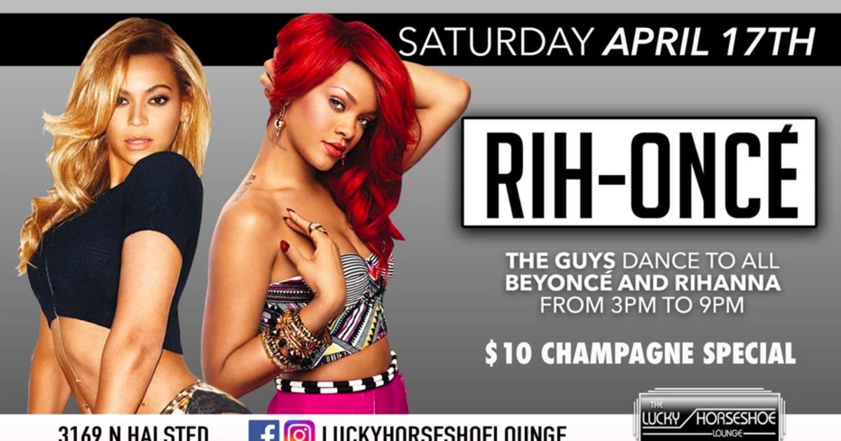 Chicago 4/17/21 Lucky Horseshoe: Rih-Yoncé