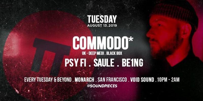 Commodo — Soundpieces SF in San Francisco at Monarch