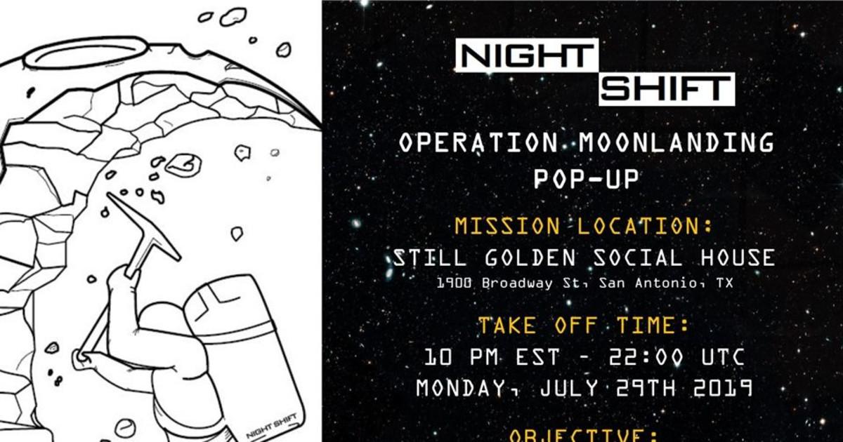Operation Moon Landing Pop Up Satx In San Antonio At Still Golden