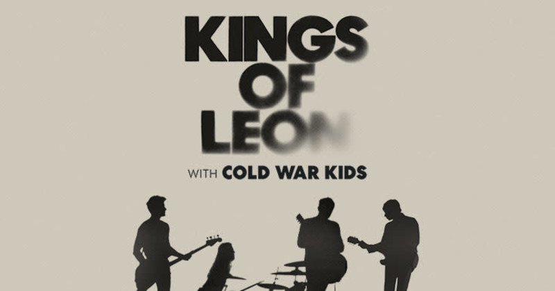 Kings of Leon w/ Cold War Kids in Austin at Germania Insurance