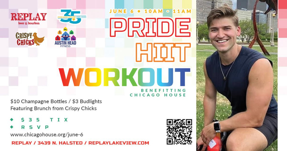 Chicago 6/6/21 Pride Workout with Austin Head
