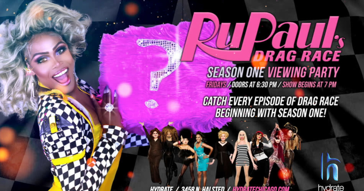 Chicago 6/4/21 RuPaul's Drag Race Season One Viewing Party