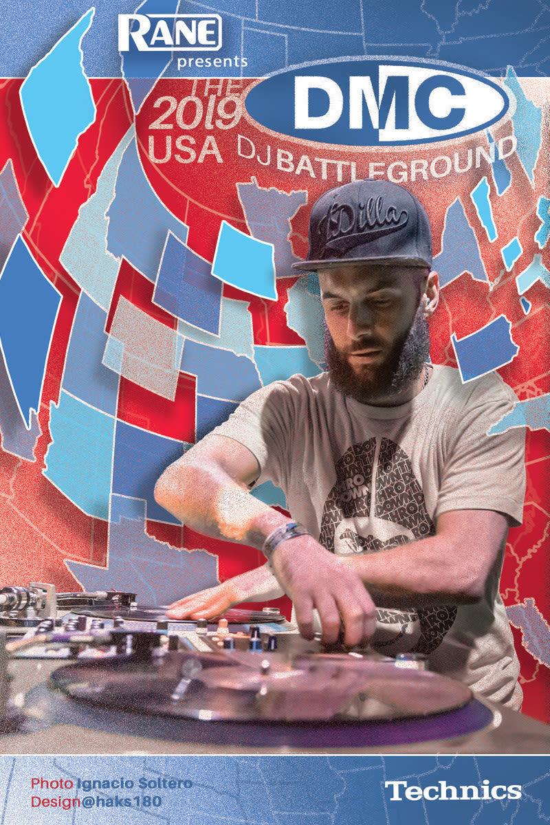 2019 DMC USA Finals DJ Battle: DJ Qbert with Host Lord