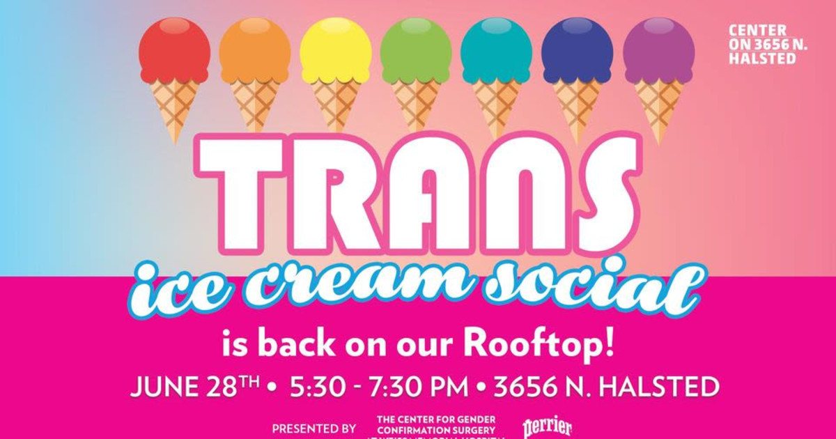 Chicago 6/28/21 Trans Ice Cream Social Back on The Rooftop!
