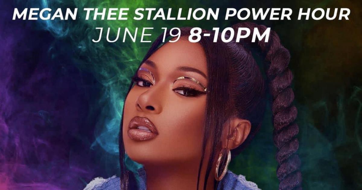 Chicago 6/19/21 ScarLIT Saturdays + Power Hour: Megan Thee Stallion