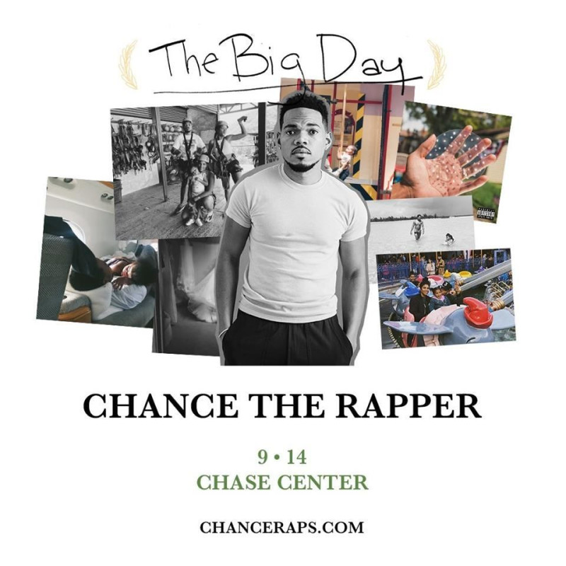 Chance The Rapper in San Francisco at Chase Center