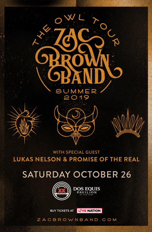 zac brown band owl tour