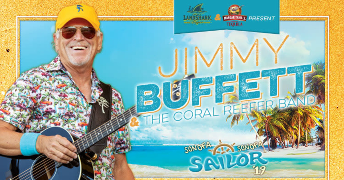 Jimmy Buffett and the Coral Reefer Band in Anaheim at ...