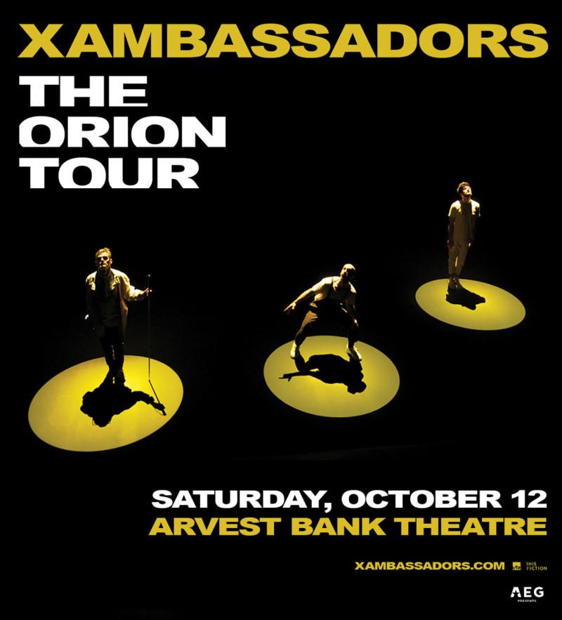 X Ambassadors, Bear Hands, LPX in Kansas City at Arvest Bank