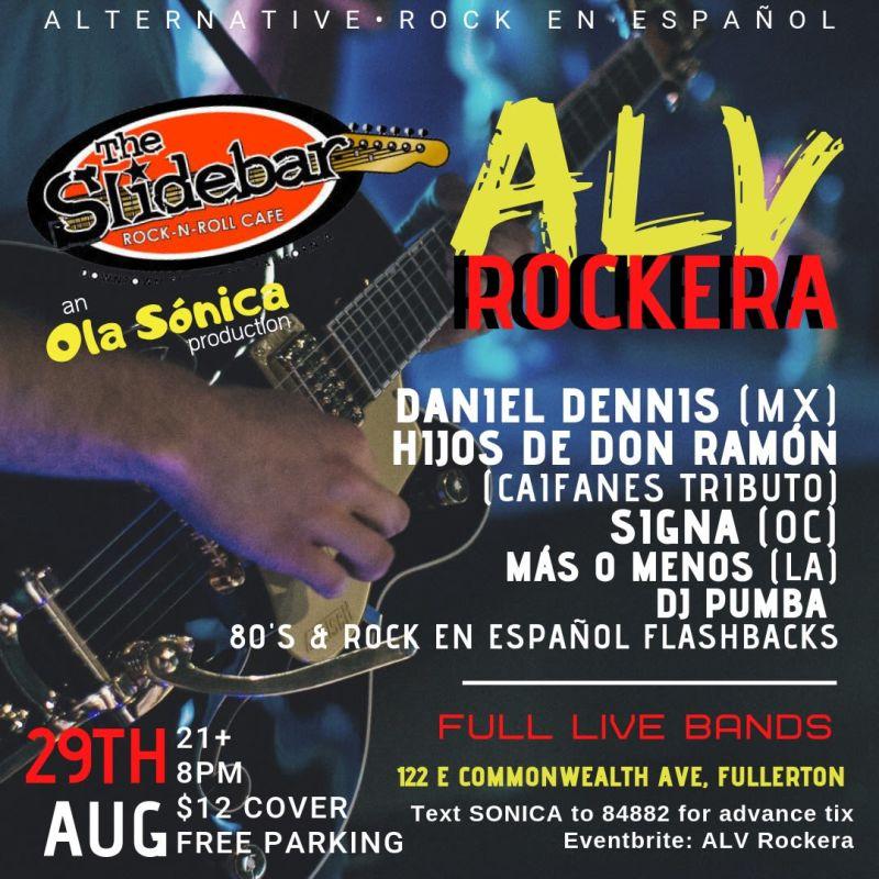 ALV ROCKERA @ Slidebar at Slidebar Cafe